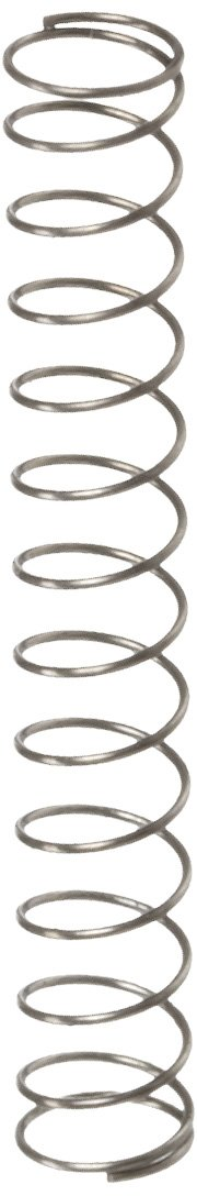 Music Wire Compression Spring Steel Metric 3.45 mm OD 0.25 mm Wire Size 7.49 mm Compressed Length 34.1 mm Free Length 1.82 N Load Capacity 0.07 N mm Spring Rate Pack of 10