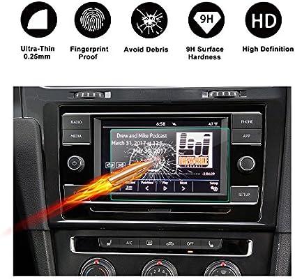 Personalizado para 2018 Volkswagen GTI Touch Protector de pantalla ...