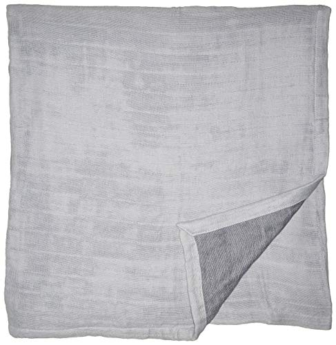 Kenneth Cole Reaction Home Soft & Cozy Reversible Cotton Woven Blanket - Twin - Blue ()