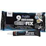 MagicEzy 9 Second Chip Fix - One-Part Filler And Color For Deep Damage Fiberglass - Midnight (RAL7021)