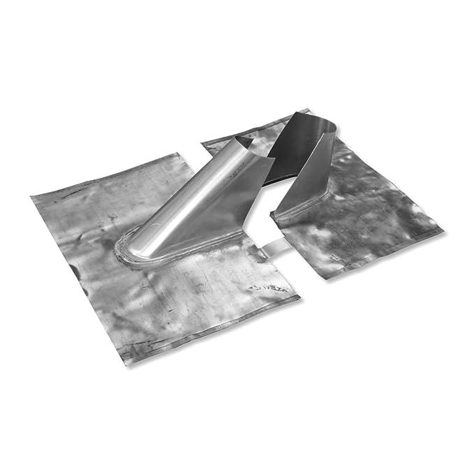 PremiumX Bleiziegel Bleipfanne Dachpfanne Blei Dachabdeckung Blei-Dachziegel Abdeckblech Antennenziegel universal