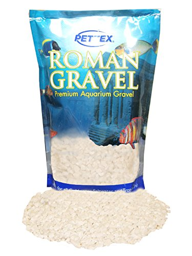 (Pettex Roman Gravel Aquatic Roman Gravel, 2 Kg, Natural Alpine White)