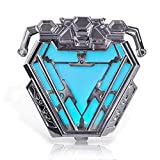 iron arc reactor - coskey LED Arc Reactor 1:1 Wearable Iron Man MK50 Costume Accessories Collection Display Movie Prop Replica