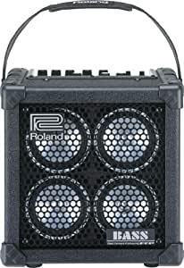 roland micro cube bass rx bass amp 4x4 portable bass amp musical instruments. Black Bedroom Furniture Sets. Home Design Ideas