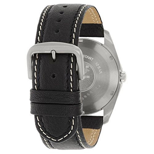 Boccia herr digital kvartsklocka med läderarmband 3608-01