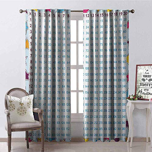 GUUVOR Educational Wear-Resistant Color Curtain Chart for sale  Delivered anywhere in Canada