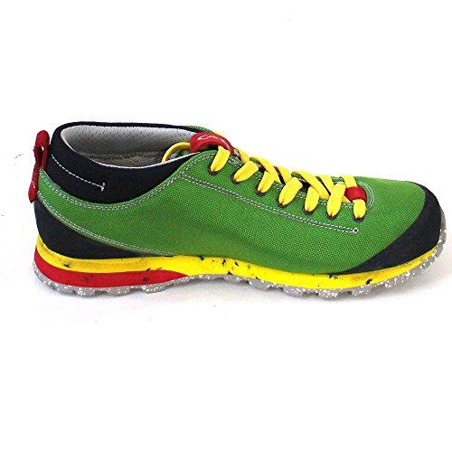 AKU Bellamont Air - Zapatillas de deporte exterior Unisex adulto grün/gelb/rot