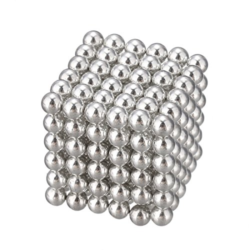 216 PCS 3mm Magic Iron Puzzle Cube Magnetic Balls Puzzle Magnet Block Desk Hunting Ammo, Intelligence develop and Stress Relief, Stress Ball