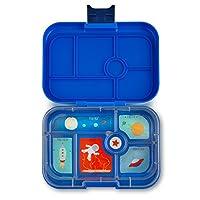 YUMBOX (Neptune Blue) Contenedor para fiambreras Bento a prueba de fugas para niños: la fiambrera de estilo Bento ofrece una comida duradera, a prueba de fugas, comida para llevar y empaque para refrigerios