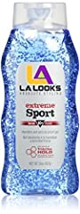 INDICATIONS:L.A. LOOKS Sport Xtreme Gel is for the athletic type looking to get their game on without fussing with unruly locks. It is made with a triactive hold for absolute staying power, resistance and durability. Enjoy a non-stop hold tha...