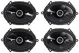 6x8 car door speakers - 4) Kicker 43DSC6804 D-Series 6x8