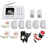 iMeshbean 2016 Wireless Home Security Alarm System DIY Kit with Auto Dial & Outdoor Siren Model # 001 USA