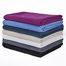 Neotrims Cotton Poly Soft Jersey Knit Dress Material Fabric, SGS Test Approved,Baby Soft 185cms Wide,Apparel Clothes Making,Photography Backdrop,Crafts,7 Colours;Naturals & Fashion Colours,Great Price