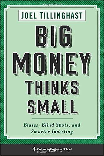 Descargar gratis Big Money Thinks Small: Biases, Blind Spots, And Smarter Investing PDF