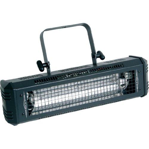 (American DJ Mega Flash DMX | 800W DMX strobe light. Speed & dimmer control knob on rear panel.)