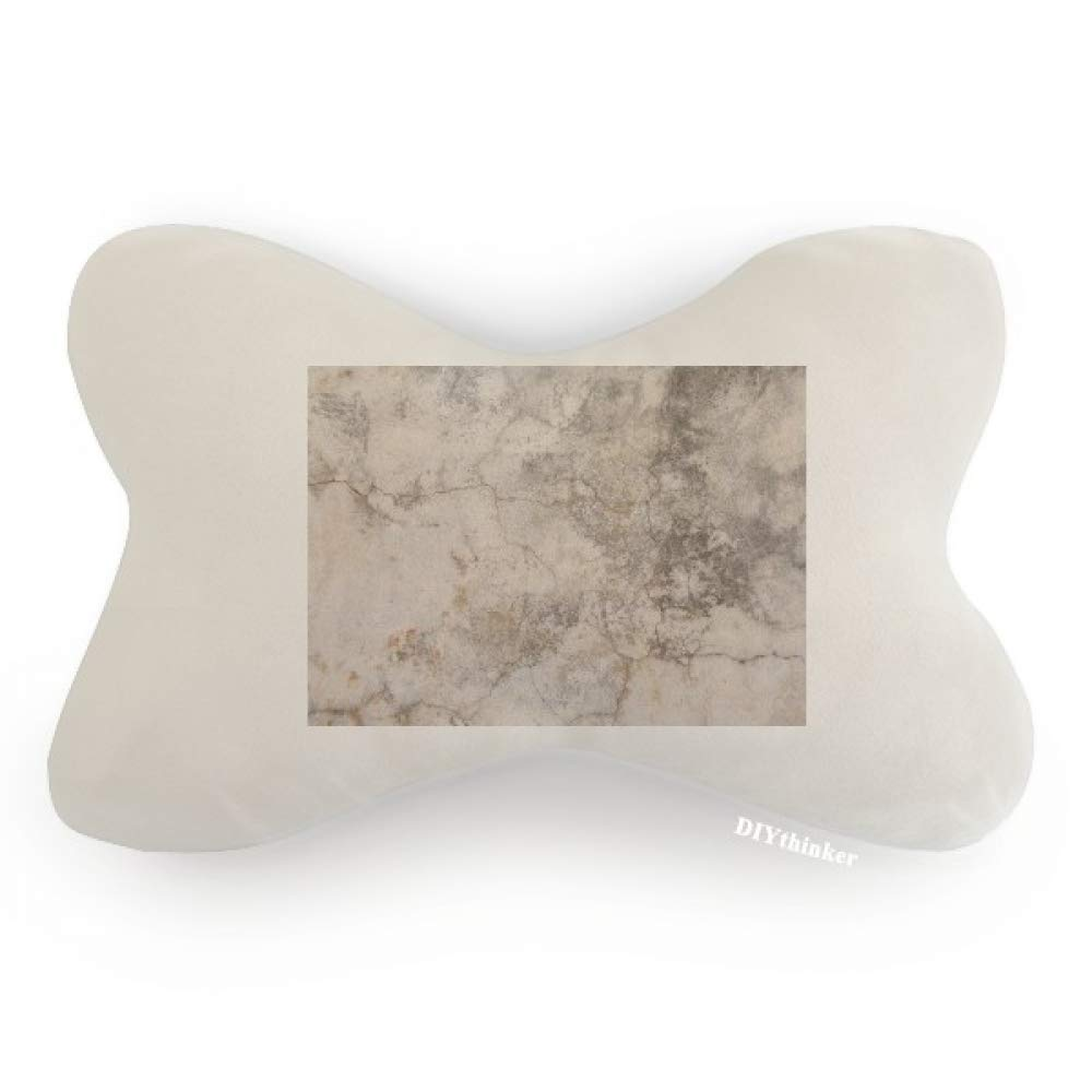 DIYthinker Stone Wall Surface Crackles Texture Car Neck Pillow Headrest Support Cushion Pad