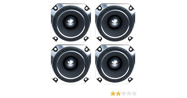 "Audiopipe ATR-4061 2/"" 2400W Titanium Super Pro Car Audio Heavy Duty Tweeters 4"
