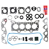 #7: ECCPP Head Gasket Set Engine Head Gaskets fit 1988-1995 Honda Civic LX VX DX CRX Si 1.5L 1.6L Automotive Replacement