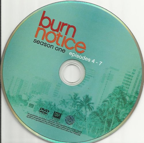Burn Notice Season 1 Disc 2 Replacement Disc!