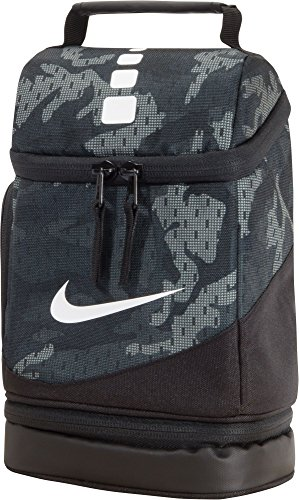 Nike Elite Fuel Pack Lunch Tote Bag (Anthracite/Black Camo)