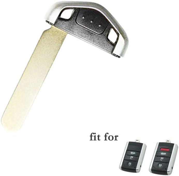 SEGADEN Uncut Blank Emergency Insert Key Blade fit for ACURA TL ZDX RDX ILX Smart Keyless Entry Remote Key PG218K