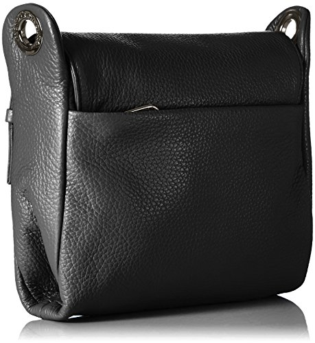 Duck Mellow Borse Spalla Mandarina A Tracolla Nero Donna Leather PUdUSq