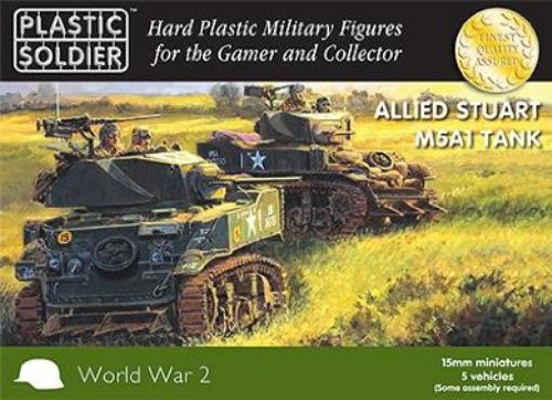 15mm Easy Assembly Stuart M5 Tank ()