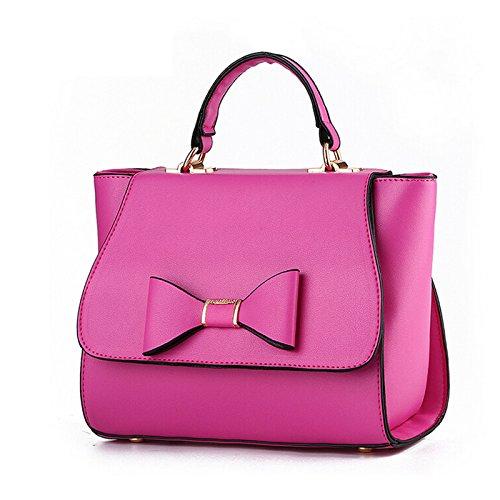 Handbag Leather NiaNia Tote Bag Totes Women's Women YB029 Rose OcOptEF