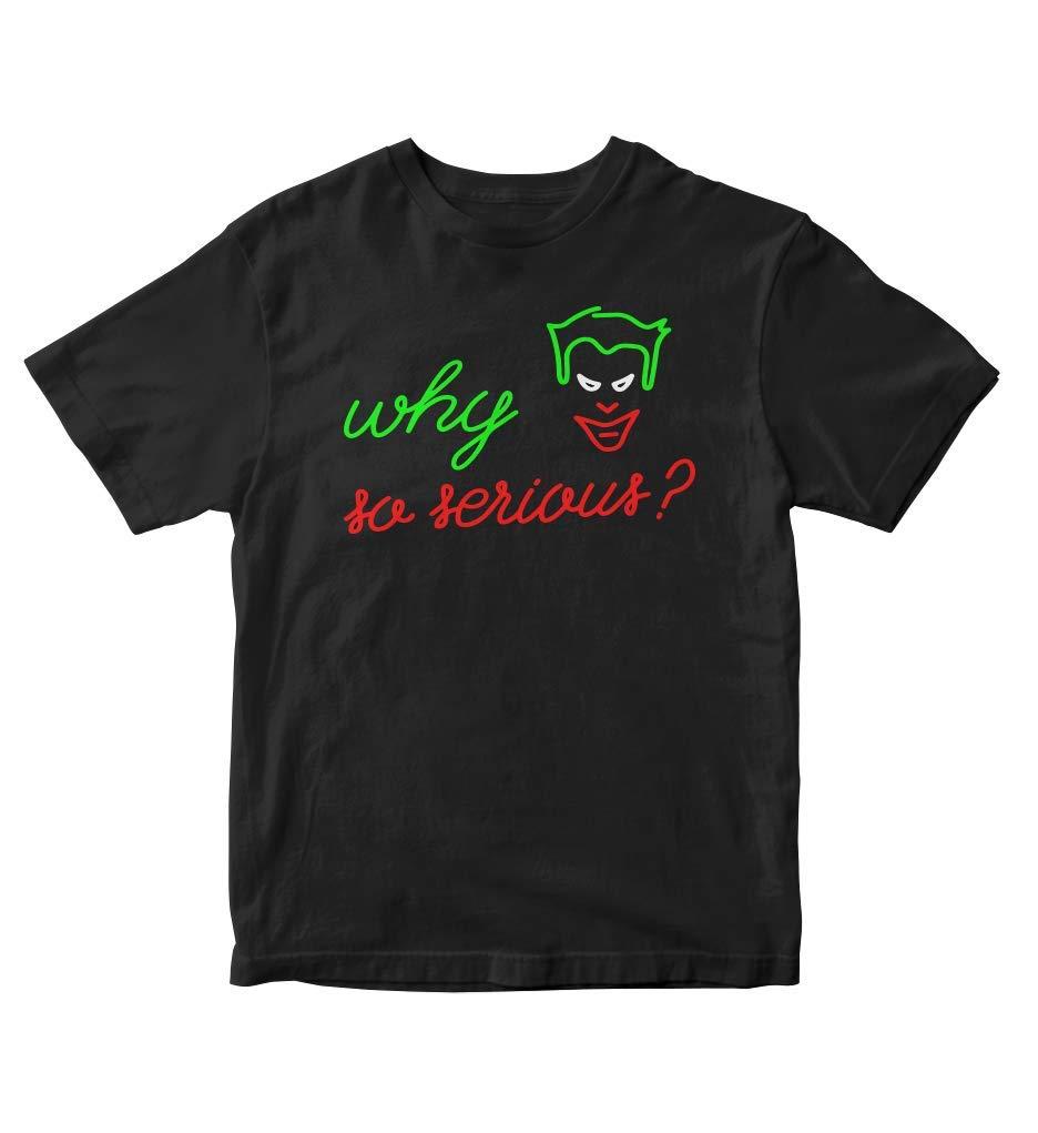 Tjsports Why So Serious Joker T Shirt Anime Manga M78