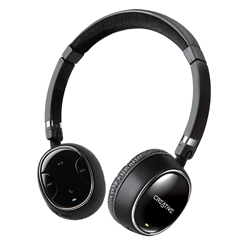 Creative WP-350 Wireless Bluetooth Headphones with Invisible Mic by Creative