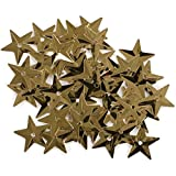 Darice Star Sequins, 18mm, Gold, 50-Pack