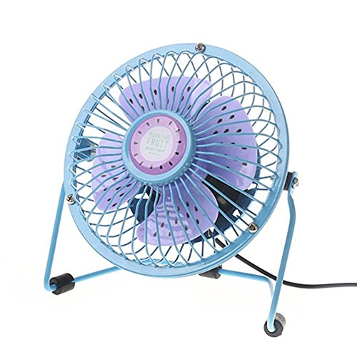 Price comparison product image Gloous Portable Fan,  Mini USB Powered Desktop Cooling Fan,  Quiet Low Power Consumption Fan (A)