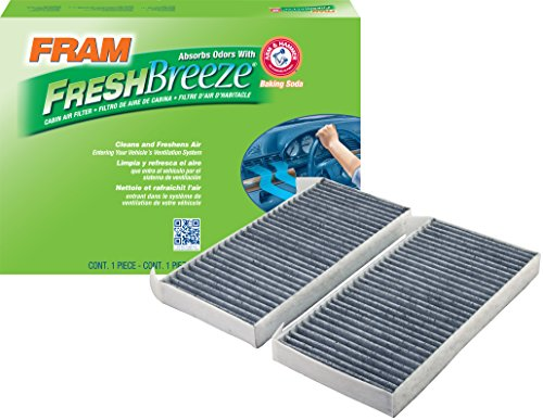 FRAM CF11172 Fresh Breeze Cabin Air Filter with Arm & Hammer
