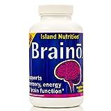 BRAINO® — Professional-Strength Brain Supplement — Comprehensive Formula — High-Dose Premium Active Ingredients — 3,320mg per Serving — 120 Veggie Caps