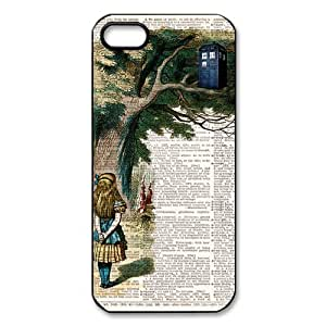 Doctor Who Tardis Police Box iPhone 5 5S Case Hard Plastic Doctor Who Iphone Cover HD Image Snap ON