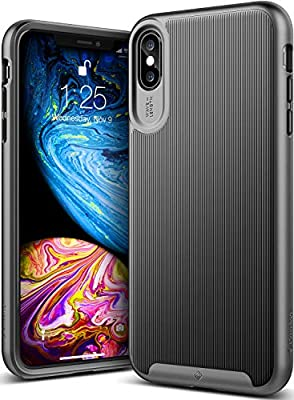 finest selection 34c39 1e658 Caseology Wavelength for iPhone Xs Max Case (2018) - Stylish Grip Design -  Black
