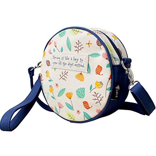 Ms. panini carino/Messenger Bag/Fresh borsa di tela stampata