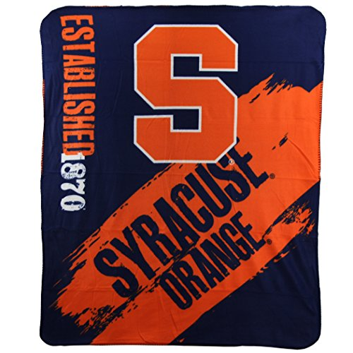 - The Northwest Company NCAA Collegiate School Logo Fleece Blanket (Syracuse Orange)