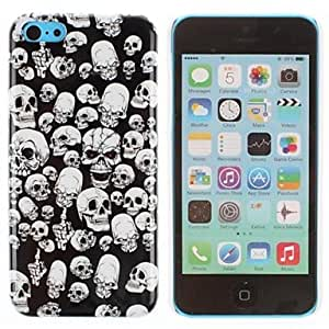 JOE All Shapes Skull Pattern PC Hard Case for iPhone 5C