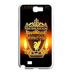 Liverpool Logo For Samsung Galaxy Note 2 N7100 Csae protection phone Case FX261425