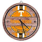 FOCO Tennesee Volunteers NCAA Barrel Wall Clock
