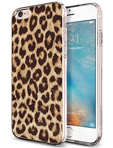 Protective iPhone 6S Plus Case 5.5 Inch Leopard Print
