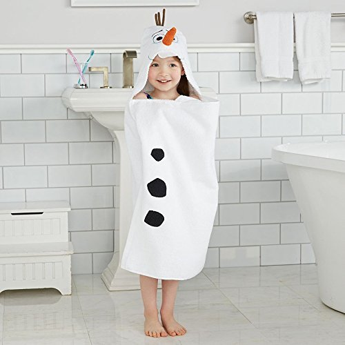 Disneys Frozen Olaf Hooded Towel