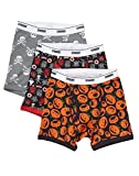 Gymboree Little Boys' Printed Boxer Brief (Pack Of 3), Halloween, M