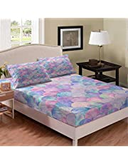Tie-Dye Rainbow Bedding Set Gamepad Printed Hip-Hop Fitted Sheet Yellow Sunflower Sheet Set Boho Exotic Hippie Style Fitted Sheet Deep Pockets Peacock Feather Summer Beach Palm Leave Fitted Bed Sheets