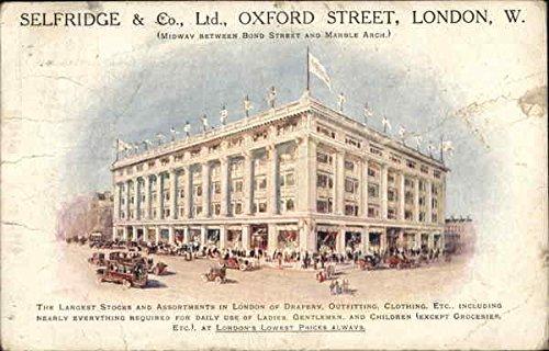 Selfridge & Co., Ltd. London, England Original Vintage - Selfridge.com
