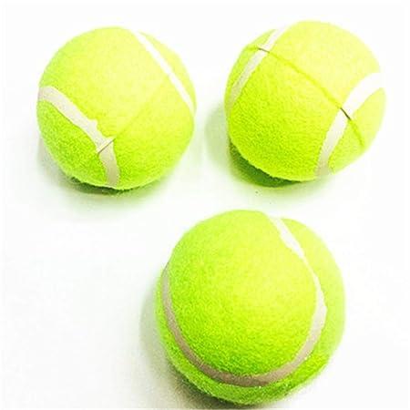 GYJ 3 Pelotas de Goma para Perro, tamaño de Pelota de Tenis ...