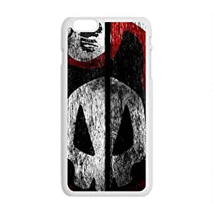Creative Skull graffitti Cell Phone Case for Iphone 6 Plus