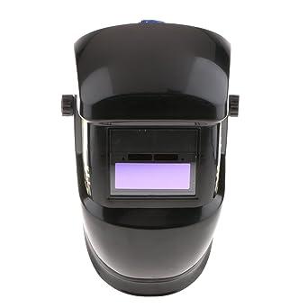 Sharplace Casco de Soldadura Eléctrica Máscara Solar Oscurecimiento Automático Máscara de Protección de Cráneo para Ojos
