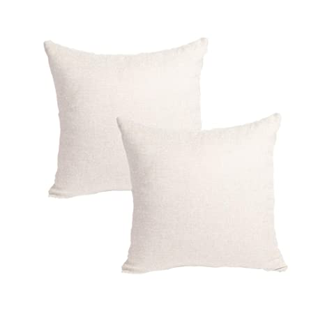 MRNIU cojines decoracion 45 x 45 Blanco oscuro cojines sofas ...